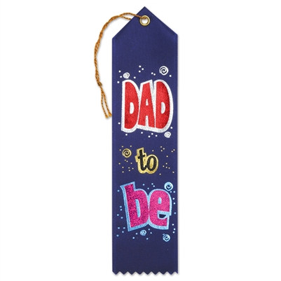 Dad to Be Ribbon