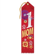 #1 Mom Ribbon