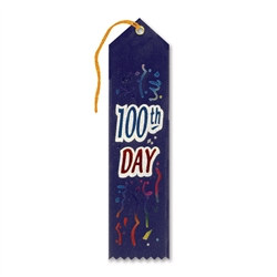 100th Day Ribbon