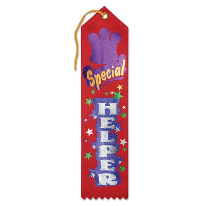 Special Helper Award Ribbon