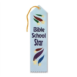 Bible School Star Ribbon