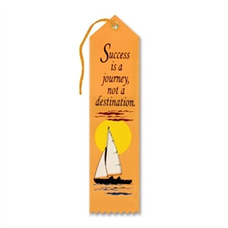 Success Is A Journey Ribbon