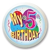 My 5th Birthday Blinking Button
