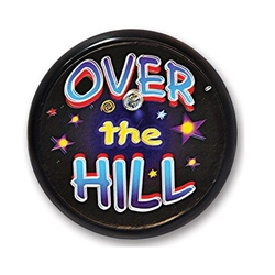 Over The Hill Blinking Button