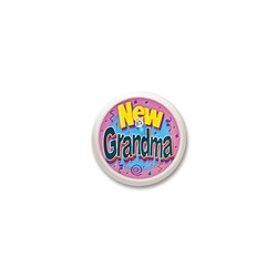 New Grandma Blinking Button