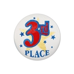 3rd Place Satin Button