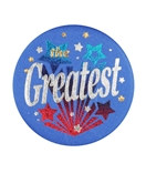 The Greatest Satin Button