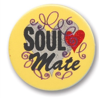 Soul Mate Satin Button