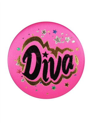 Diva Satin Button