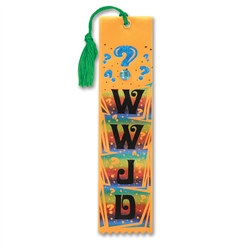 WWJD Jeweled Bookmark