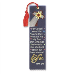 For God So Love The World Jeweled Bookmark