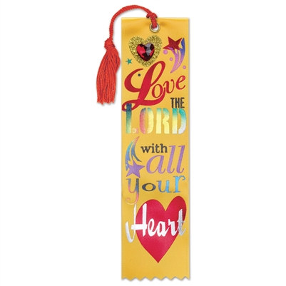 Love The Lord Jeweled Bookmark