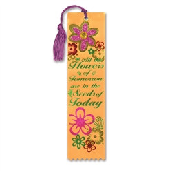 All The Flowers Of Tomorrow Jeweled Bookmark