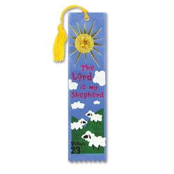 The Lord Is My Shepherd Jeweled Bookmark