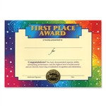 First Place Award Certificates (6 Certificates/Pkg)