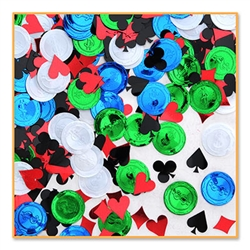 Poker Party Confetti
