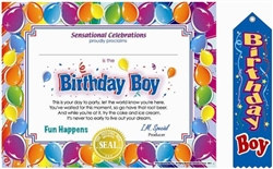 Birthday Boy Gift Set