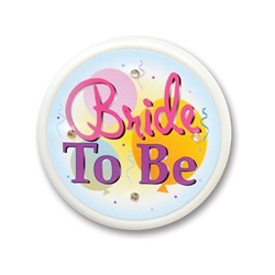 Bride To Be Flashing Button