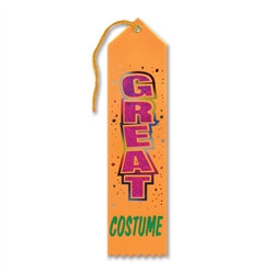 Great Costume Halloween Ribbon