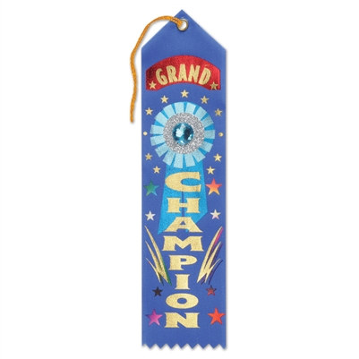 Grand Champion Jeweled Ribbon