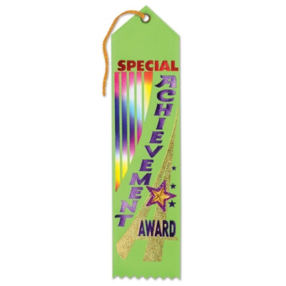Special Achievement Award Jeweled Ribbon