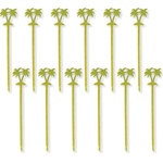 Plastic Palm Tree Drink Stirrers (12/pkg)
