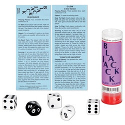 Black Jack Dice Game