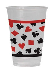 Card Night Plastic Cups