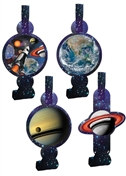Space Party Blowouts (8/pkg)