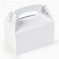 White Treat Boxes (2/pkg)