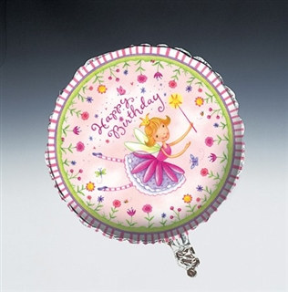 Garden Fairy Birthday Mylar Ballon