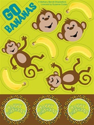 Monkey Stickers
