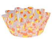 Candy Corn Plastic Bowl