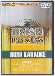 Irish Pub Songs Karaoke DVD