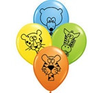 Jungle Animal Latex Balloons
