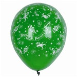 Happy St. Patrick's Day Latex Balloons (12/pkg)