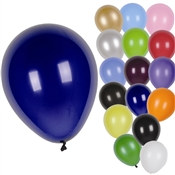 Solid Color Latex Balloons
