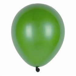 Emerald Green Latex Balloons (12/pkg)