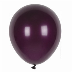 Burgundy Latex Balloons (12/pkg)