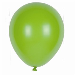 Lime Green Latex Balloons (12/pkg)