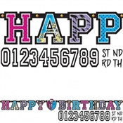 Monster High Birthday Banner