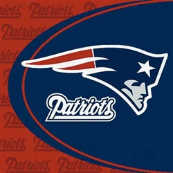 New England Patriots Lunch Napkins (16/pkg)