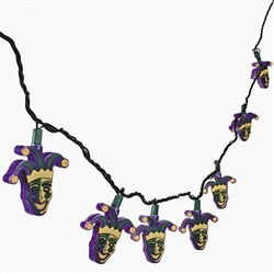 Mardi Gras String Lights