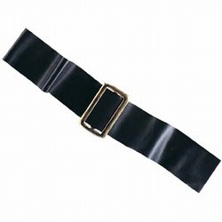 Black Vinyl Pirate Belt