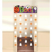 Halloween Friendly Door Curtain