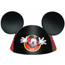 Mickey Mouse Party Hats (8/pkg)