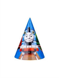 Thomas and Friends Party Hats (8/pkg)