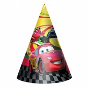 Cars Party Hats (8/pkg)