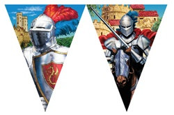 Valiant Knight Flag Banner
