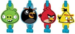 Angry Birds Party Blowouts (8/pkg)